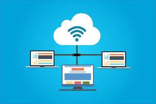 Cloud hosting as a type of hosting