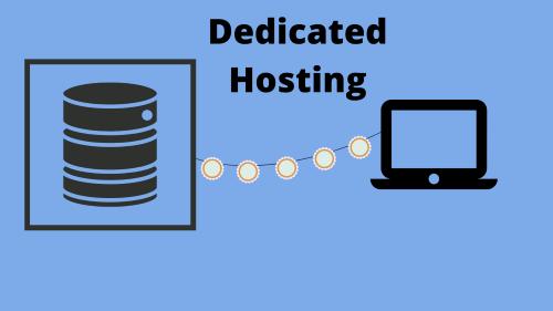 Dedicated Hosting as types of hosting